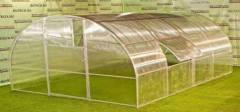 Естественная вентиляция в теплице из поликарбоната