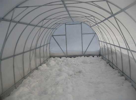 Как подготовить теплицу к зиме