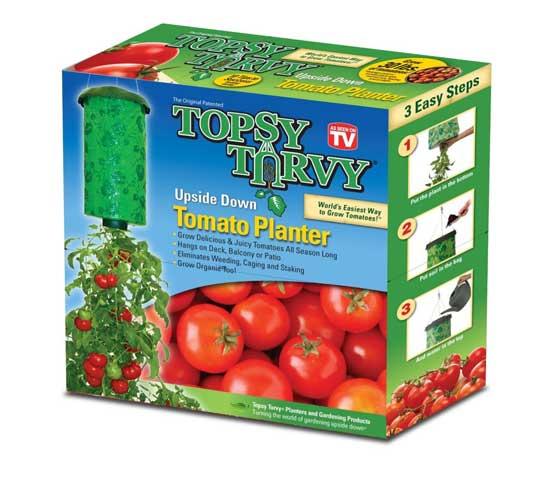 Topsy Turvy - новая технология для теплиц