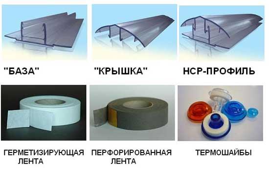 Особенности выбора комплектующих к теплицам из поликарбоната