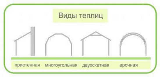 Критерии выбора теплиц по положению модулей стен